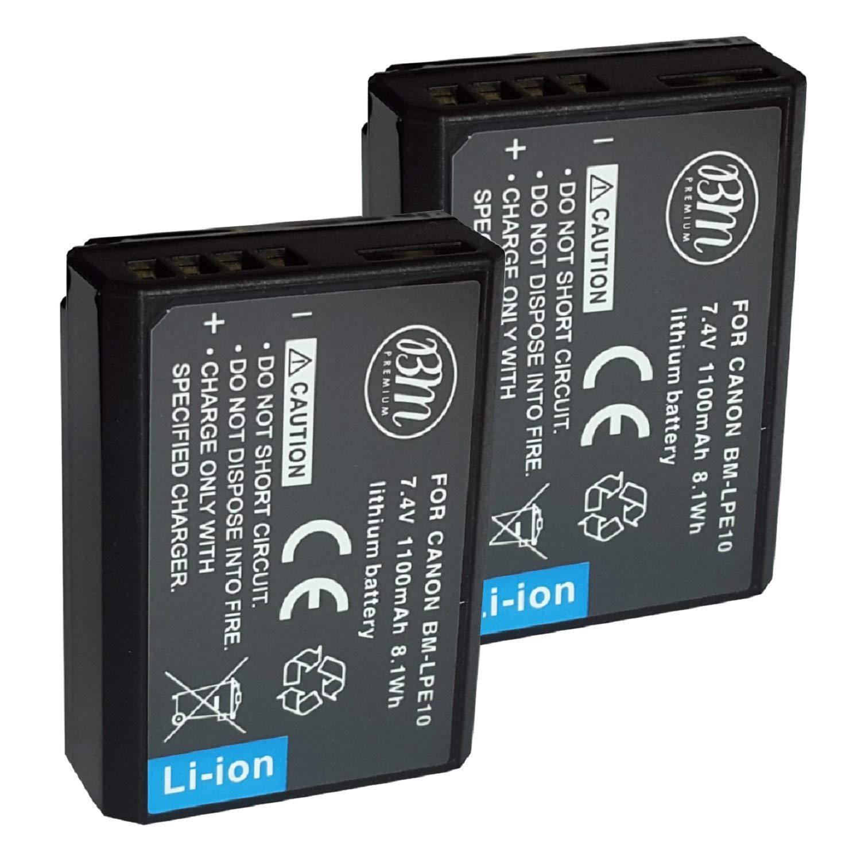 BM Premium 2 Pack Batteries Digital