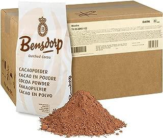 Callebaut Bensdorp Unsweetened Baking Cocoa Powder - Premium Cocoa Powder With 22/24% Cocoa Butter Content Dutch-Processed - GLUTEN FREE - 44 Lbs