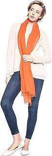 3VERY Men's Women's Unisex Cashmere-Silk Solid Scarf