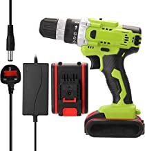 Decdeal 21V Multifunctional Electric Cordless Drill High-power Lithium Battery Wireless Rechargeable Hand Drills Home DIY ...