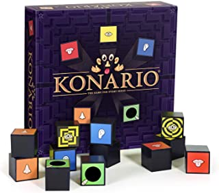 Konario Memory Game - A Unique Matching Game for Every Sense - Memory Game with Fun Scratch and Sniff Stickers & Taste Can...