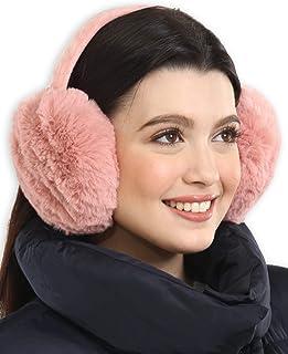 Green,Guitar Music Fresh Pattern Winter Earmuffs Ear Warmers Faux Fur Foldable Plush Outdoor Gift