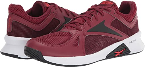 Merlot/Instinct Red/Black