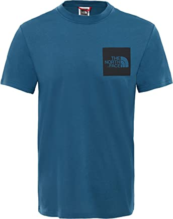 aa5f66add1 The North Face S/S FINE T-Shirt for MEN, Blue, XL