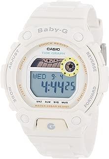 Casio Women's BLX102-7 Baby-G Multi-Function White Resin Digital Watch