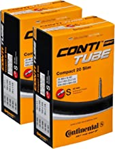 Continental 42mm Presta Valve Tube (2-Pack, 700 x 25-32cc) Slim