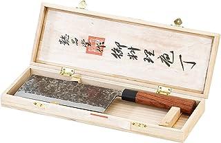 TokioKitchenWare Chinesisches Küchenbeil: Chinesisches Hackmesser, handgefertigt..