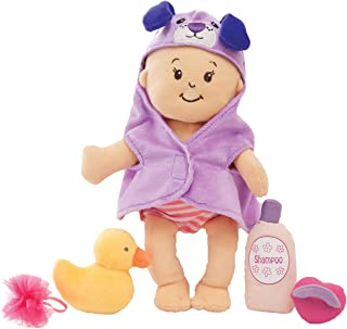 """Manhattan Toy Wee Baby Stella 12"""" Soft Baby Doll and Bathing Set"""