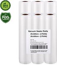 Vacuum Sealer Rolls (20x500cm(3 rolls)+28x500cm(3 rolls