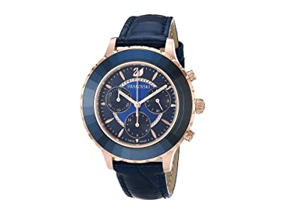 Swarovski Octea Lux Chrono Watch (Blue) Watches