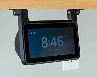 Echo Show 5 Under Cabinet Kitchen Mount Bracket for Amazon Alexa Devices | All Hardware Included (White)
