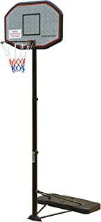 NORTHERN STONE Pro Court Height Adjustable Portable Basketball Hoop with Impact Backboard Official Height