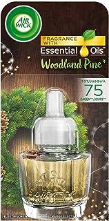 AirWick Refill voor elektrische diffusers - Woodland Pine - verpakking van 3 (3 x 19 ml)