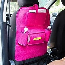 Bestpriceam Car Seat Back Multi-Pocket Storage Bag Organizer Holder Hanger (Hot Pink)