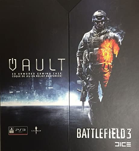Calibur Battlefield 3 Vault 3D ArmGoldt Gaming Case for PS3 by Battlefield 3