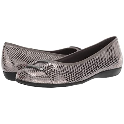 Trotters Sizzle Signature (Multi Metallic Snake Embossed Textile) Women