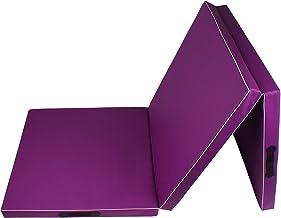 Calma Dragon 85620, Gymnastiekmat, PU Schuim, Waterdicht, Beschermende Mat in 3 Opvouwbare Panelen, 60 x 180 x 6cm, Besten...