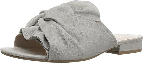 Kenneth Cole REACTION Wohommes Vanya Slide Sandal with with Twist Detail, Light gris, 11 Medium US  vente de sortie