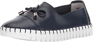 Bernie Mev Girls' TWK50 Loafer, Navy, 28-35 M M EU Big Kid (28 US)