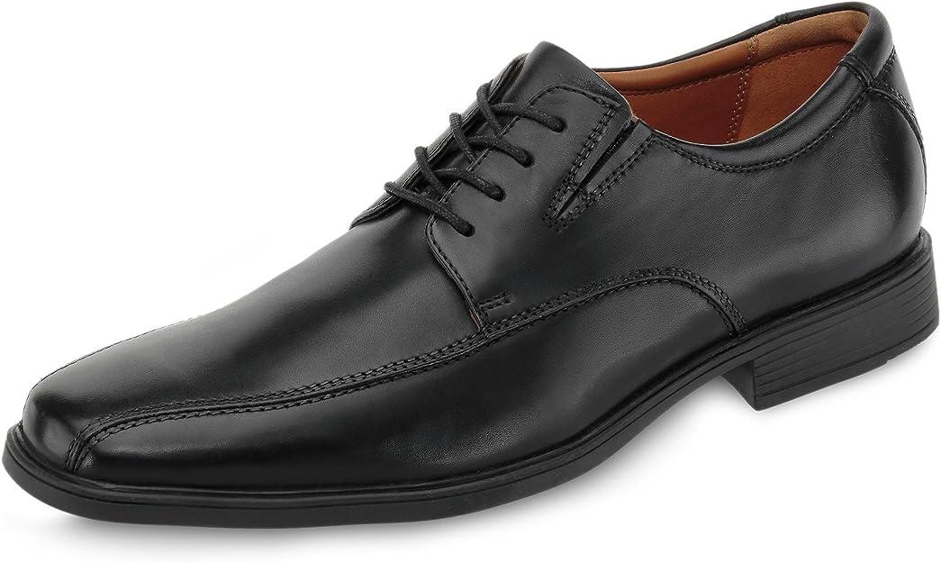 TALLA 42 EU. Clarks Tilden Walk, Zapatos de Cordones Derby Hombre