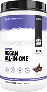 NORTH COAST NATURALS - Boosted Vegan All-In-One Chocolate - 29.6 oz (840 g)