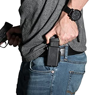 Alien Gear Cloak Mag Carrier Single Magazine Holster, fits 380, 9mm, 40, 45, 10mm, wear as IWB mag Pouch or OWB Magazine Pouch