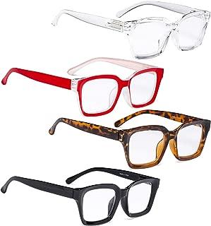 READING GLASSES 4 pack Ladies Oversized Fashionable Design Women Trend Setters Reader Eyeglasses