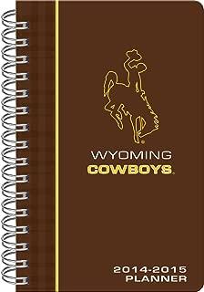 C.R. Gibson 17-Month Wirebound Planner, 2014-2015, Wyoming Cowboys (C950993WM)