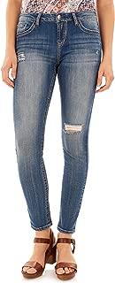 WallFlower Women's Juniors Basic Legendary Stretch Skinny Denim Jeans (28-30-32