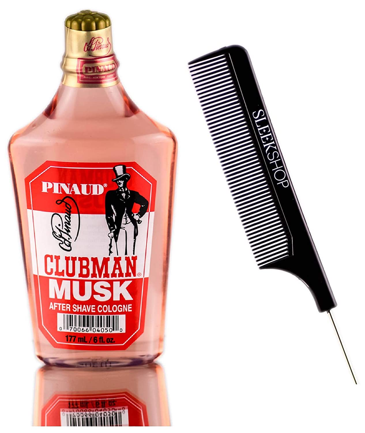 Pinaud Clubman Since 1810 MUSK Cologne Ranking integrated Be super welcome 1st place Lotion Sl w After-Shave
