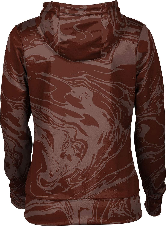 St. Bonaventure University Girls' Zipper Hoodie, School Spirit Sweatshirt (Ripple)
