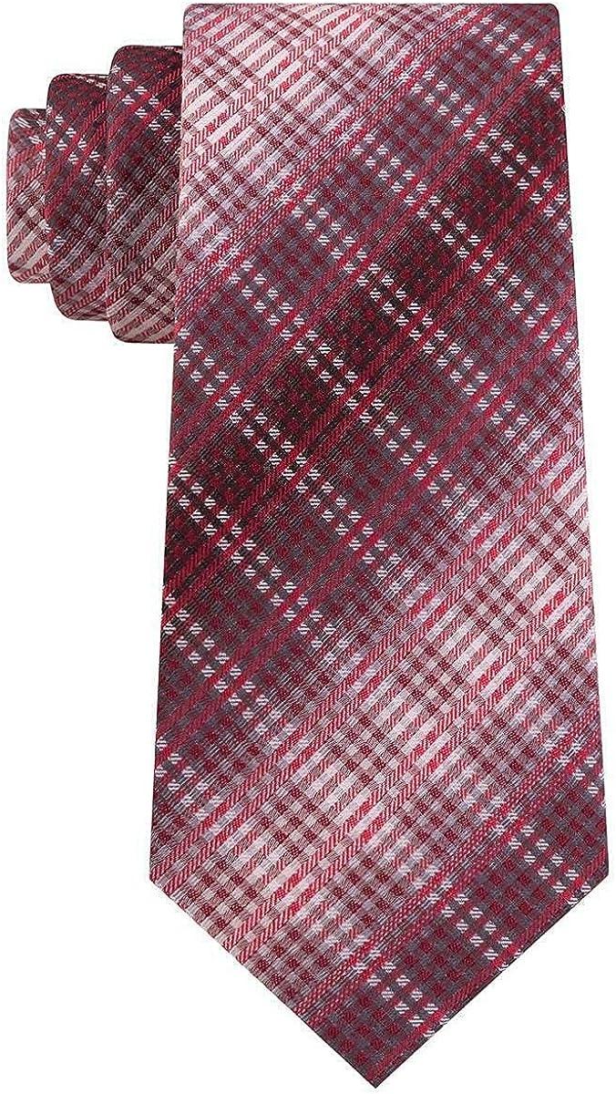 Van Heusen Mens Garcia Ombre Classic Neck Tie Red O/S