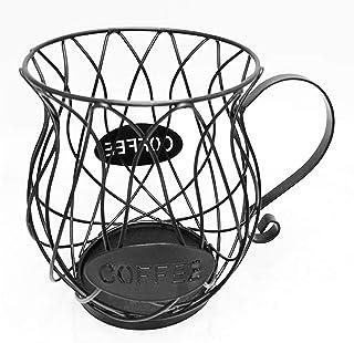 Design moderne Nordic Iron Art Capsule creusée Capsule de café Panier de rangement Creative Fruit Café Pood Organisateur O...