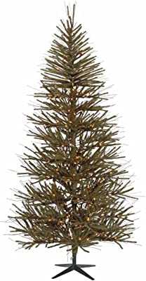 Vickerman Vienna Twig Tree with 1057 Tips, 8-Feet by 52-Inch