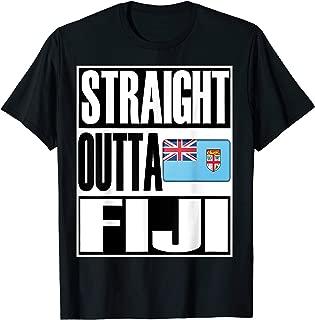 Storecastle: Straight Outta Fiji Gift Flag Pride T-Shirt