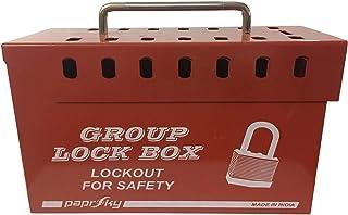 Group Lock Box - 14LOCKS (RED) - PS-LOTO-GLB15