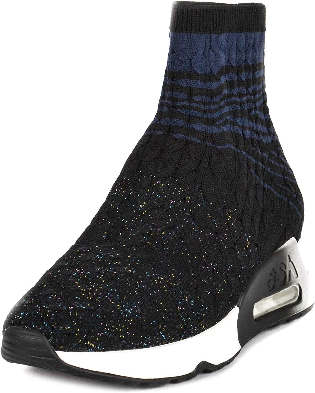 ASH Footwear Lanet Schwarz Blau Damen Turnschuhe 37 Schwarz Blau Blau  zu verkaufen