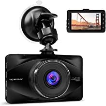 APEMAN Dash Cam FHD 1080P 3.0 inch LCD Screen Dashboard Camera Car Driving Recorder with 170 Degree Wide Angle,WDR,G-Sensor,Loop Recording,Motion Detection (C570)