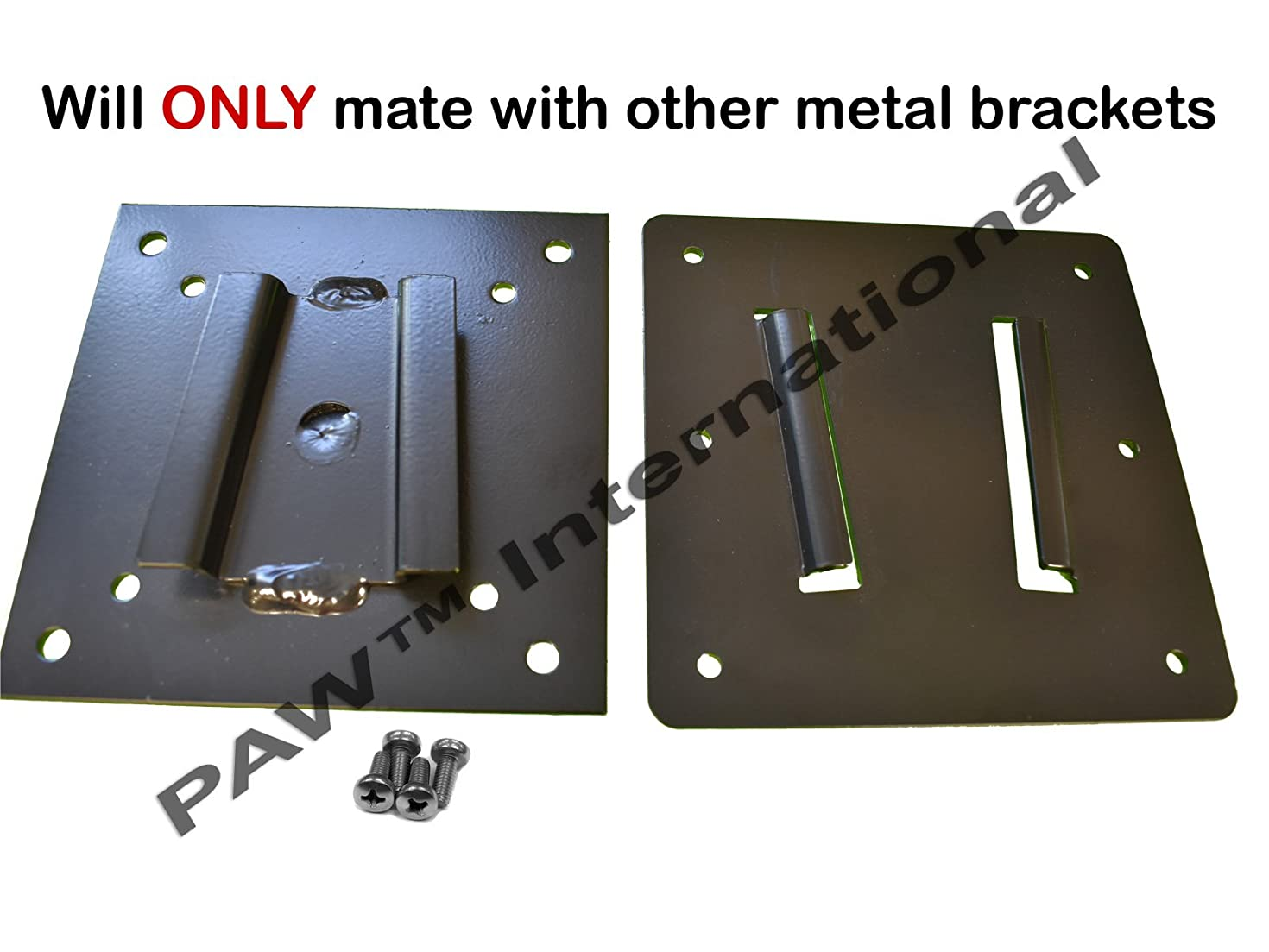 STEEL 2 Piece TV Bracket set for Campers/RVs-(Not PAW International Polymer Brackets)-