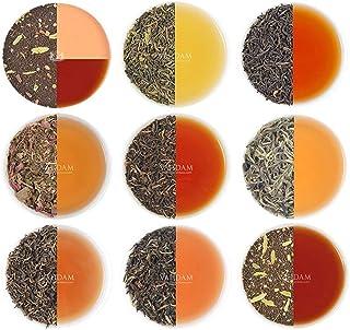VAHDAM, Assorted Loose Leaf Tea Sampler - 10 TEAS, 50 SERVINGS - Black Tea, Green Tea, Oolong Tea, Chai Tea, White Tea | Tea Variety Pack | Hot, Iced, Kombucha Tea