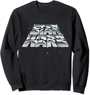 Star Wars Slanting Chrome Logo Sweatshirt