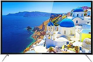 Smart TV 4K HD, WiFi LCD Televisore Curvo Antideflagrante Curvatura 4000R, Design Audio Surround A 360 °, Visione Immersiva A Schermo Intero