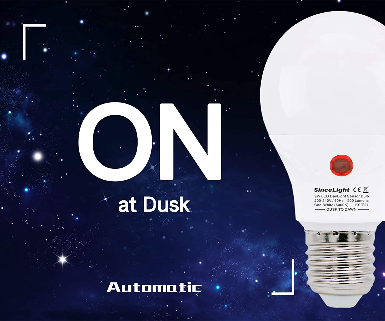 Amazon.com Dusk to Dawn LED Mosquito Bulb with Dual Daylight ...