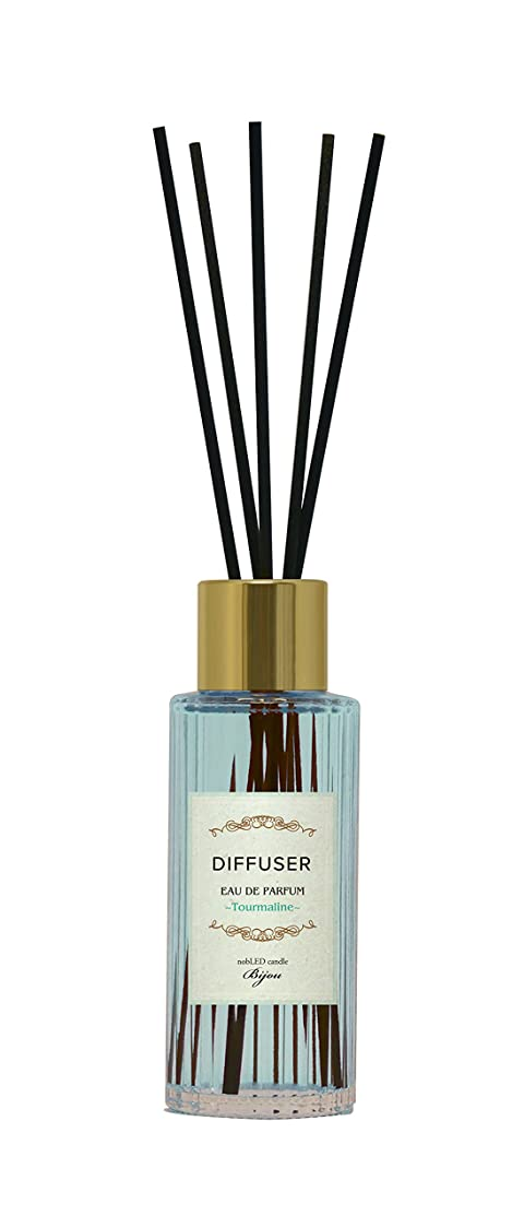 通行人店員荷物nobLED candle Bijou ディフューザー トルマリン Tourmaline Sapphire Diffuser ノーブレッド キャンドル ビジュー