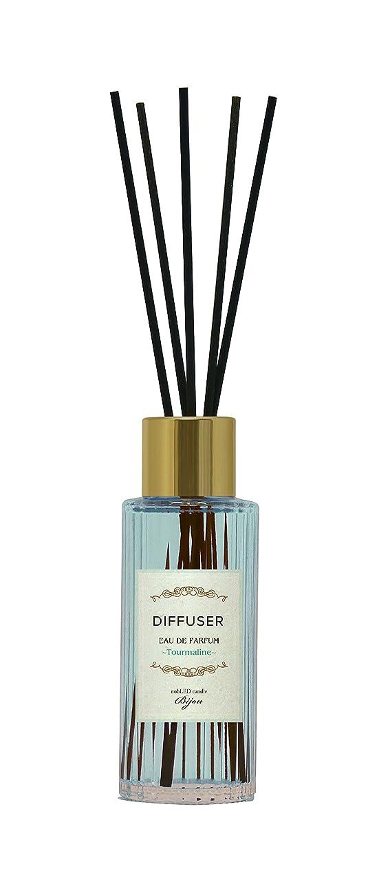 対応競争力のある受粉するnobLED candle Bijou ディフューザー トルマリン Tourmaline Sapphire Diffuser ノーブレッド キャンドル ビジュー