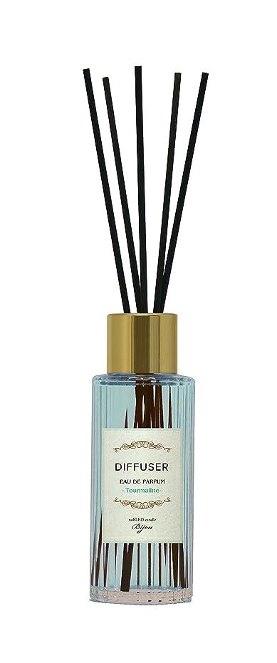 変数植物学手段nobLED candle Bijou ディフューザー トルマリン Tourmaline Sapphire Diffuser ノーブレッド キャンドル ビジュー