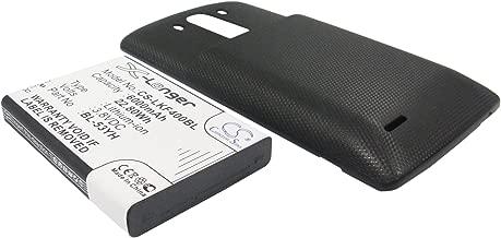 6000mAh Battery Replacement for LG D830, D850, D850 LTE, D851, D855, P/N BL-53YH