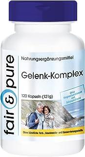 Glucosamina Complex - Glucosamina y Condroitina + MSM y Astaxantina - Complejo para las articulaciones - 120 Cápsulas
