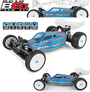 Team Associated 90020 RC10B6.1 Team Edition Off Road Buggy Kit, 1/10 Scale, 2WD, Mid Motor Electric