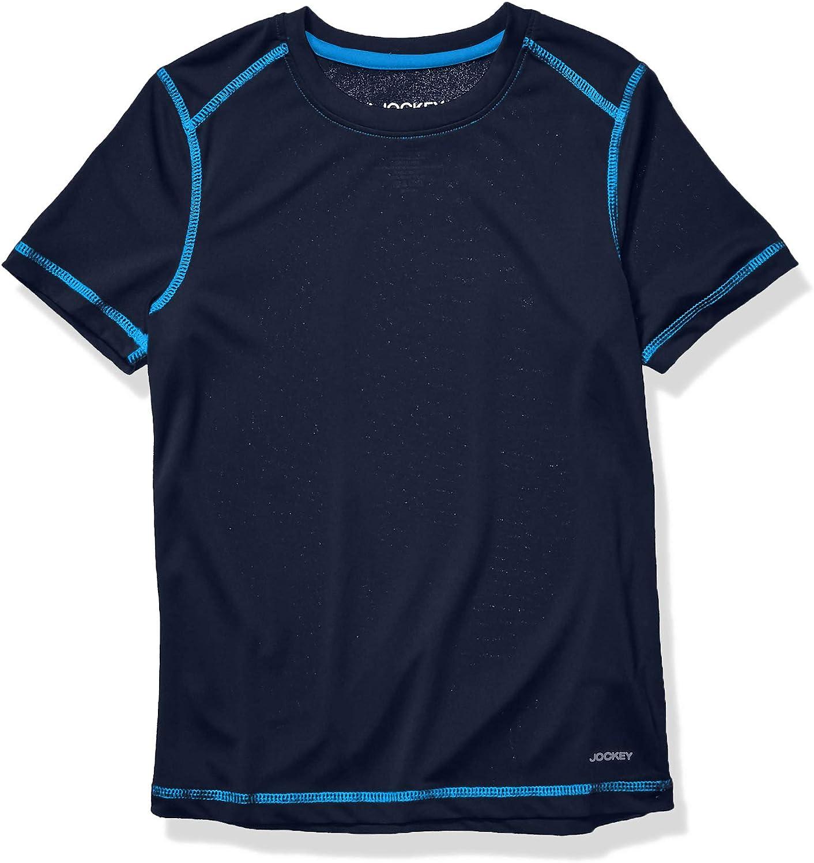 Jockey Boys' Essential Short Sleeve T-Shirt
